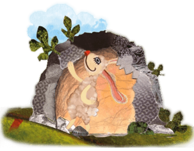 أرنب في المغارة
