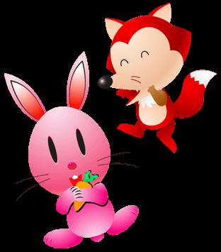 الأرنب و الثعلب